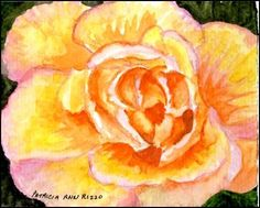 Daily Paintworks - Patricia Ann Rizzo  http://www.dailypaintworks.com/fineart/patricia-ann-rizzo/just-a-garden-rose/255724