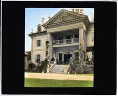 Hampton Mansion, Site History, Vernacular Architecture, Library Of Congress, Historic Homes, Historical Sites, The Hamptons, Facade, Mansions