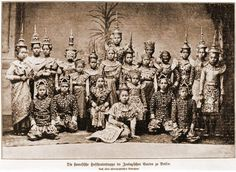 Siamese Dancing Troupe in Berlin 1900 |  Siam, Thailand & Bangkok Old Photo Thread - Page 30 - TeakDoor.com - The Thailand Forum