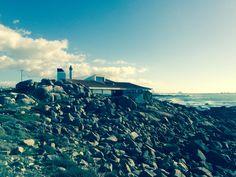 On the edge of the Atlantic