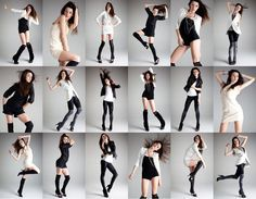 """Pose and Postures. Everyone must learn the """"broken doll"""" pose. It's a fashion favorite..."""