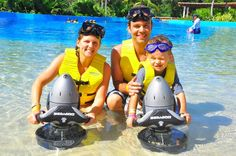 The Scooter Activity can be enjoyed in the Full Day VIP Program at Dolphinaris Riviera Maya!