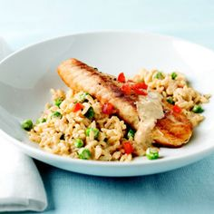Tuscan Tilapia Recipe - Philadelphia Cooking Creme Recipe - Delish  I'm going to try it with regular cream cheese fresh basil and a fresh tomato.