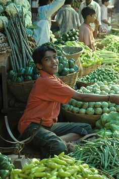 market in india.