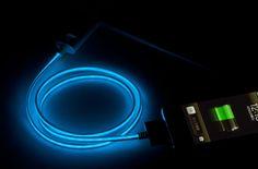 光るUSB充電ケーブル for iPhone/iPad アスキーストア