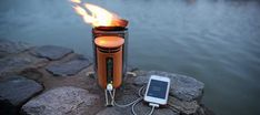 Turning Fire into Electricity (BioLite Camp Stove)