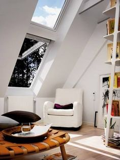 Make a small space feel bigger. Daylight will bounce off stylish white frames to create the feeling of greater space.