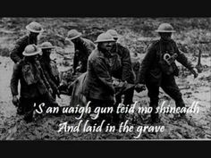 Song composed by Dòmhnall Ruadh Chorùna (Donald MacDonald of Coruna), a Scottish-Gaelic poet from North Uist, whilst fighting in the battle of the Somme, in the trenches of the Great War, for his love, Mhagaidh Nic Leòid (Maggie MacLeod). As performed by Julie Fowlis from the album Dual, that is very much recommended to lovers of Gaelic song and/or culture.