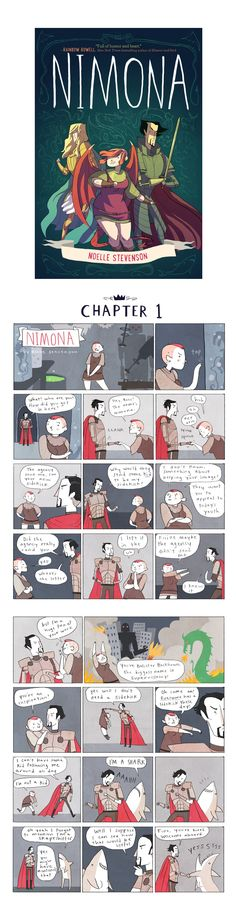 Nimona Chapter 1 by Noelle Stevenson