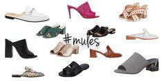 In jedem Online-Shop gibt es derzeit Mules zu kaufen. Wieso? Sie sind im Trend. Verstehen kann ich es irgendwie. Es gibt verschiedene Modelle von diesen Schuhen und sie sehen alle schick aus. Bequem sind sie obendrein auch noch. Der perfekte Schuh für den Sommer. Schnell reingeschlüpft und los geht's! Diese Schuhe kennzeichnen sich dadurch, dass die Ferse offen ist. Der vordere Teil kann variieren. Von Blockabsatz bis Peeptoe    Der Klassiker:Die Ferse ist natürlich frei. Die Schuhe h...