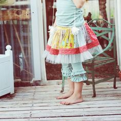 Persnickety Seaside Paige Skirt