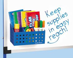 Lakeshore Learning Magnetic Board Supply Caddy