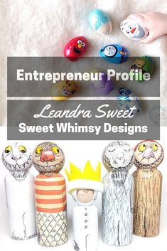 10 Questions with Sweet Whimsy Designs founder Leandra Sweet. Read the good, the bad and the ugly of being a small business owner in this weekly series at blog.cuteheads.com