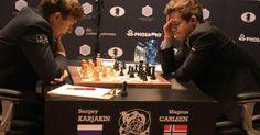 Aktuell!  Schach-WM im News-Ticker  - Remis auch in der fünften Partie: Carlsen und Karjakin weiter Kopf an Kopf - http://ift.tt/2faomGb #story