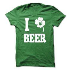I love irish beer - #gift for friends #gift for men. OBTAIN LOWEST PRICE => https://www.sunfrog.com/St-Patricks/I-love-irish-beer.html?68278