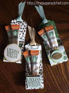 Starbucks Instant Coffee Treats, Coffee Break, Coffee Cups framelits dies, Coffee Café stamp set, Starbucks, latte, coffee, café, coffee beans, coffee crafts, designer series paper, Soft Sky, Crumb Cake, Sahara Sand, Garden Green, classic weave ribbon, tag topper punch, instant coffee, coffee treat, tag treat, Life Happens, Coffee Helps, Thanks a Latte, starburst punch