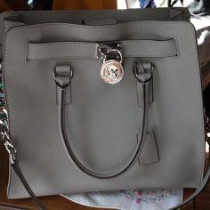 "Spotted while shopping on Poshmark: ""MK large Hamilton tote. NWT.""! #poshmark #fashion #shopping #style #Michael Kors #Handbags"