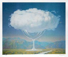 Rene Magritte, La corde sensible (Heartstring)