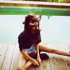 "@omeneye's photo: ""Omen Eye Stella Short // photo from @kayti_matevintage @matevintage #fashion #style #highwaisted #vintage #cutoffs #omeneye #studdedshorts #studded #shorts #LA #want #hipster #girl #hot #2012"""