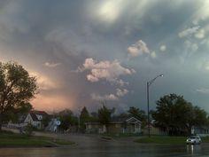 Storm over Rapid City, SD June 2010