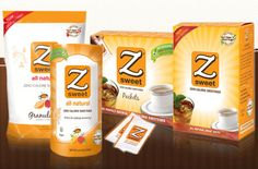 Full line of Z-Sweet products. The best tasting sweetener (not too much stevia, like Truvia and others).