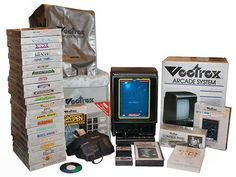 Vectrex Arcade System.  I had this complete system up until 2008 when I sold it for $280.  It was an awesome system back then and still worked up to when I sold it.
