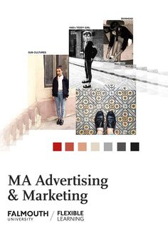 Study at the UK's Arts University from home. Discover how our MA in Advertising & Marketing can enhance your career. Cambridge Education, Falmouth University, Report Layout, Sketchbook Layout, A Level Textiles, Fashion Degrees, Employment Opportunities, Work From Home Tips, Fashion Marketing