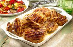 ¡Pollo con adobo a la parrilla! Prepara esta suculenta receta de Goya: http://www.sal.pr/recipe/pollo-con-adobo-a-la-parrilla/