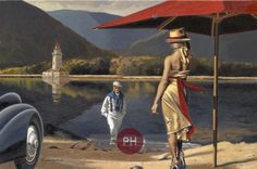 """Peregrine Heathcote (Born in London in 1973) """"Just the Two of Us"""""""