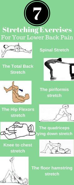 7 STRETCHING EXERCISES THAT YOU CAN DO IN JUST 7 MINUTES FOR LOWER BACK PAIN RELIEF