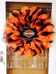 Harley Davidson Wreath