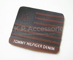 Leather Labels | Waistband Label | Jeans Patch | U.K.P. Accessories