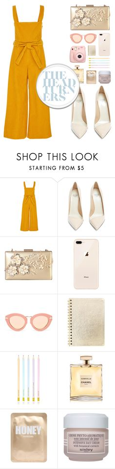"""ROSE GOLD DAY 🌹"" by amaliaaa56 ❤ liked on Polyvore featuring Mara Hoffman, Francesco Russo, Rimen & Co., Karen Walker, Lapcos and Sisley"
