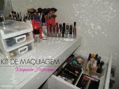 Blog Thati Maforte Tudo para Maquiagem: Maquiador Profissional - Montando seu kit