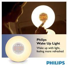 Philips Wake-up Light. Birthday want.