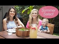Delicious Strawberry & Spinach Salad!! - YouTube