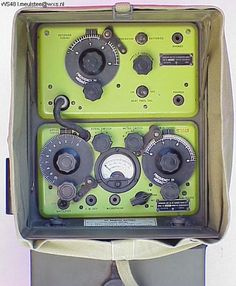 The backpack army No. 48 radio set was popular among NZ hams on 40 m during the 1960s.