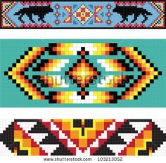 Find Traditional Native American Pattern Vector Illustration stock images in HD and millions of other royalty-free stock photos, illustrations and vectors in the Shutterstock collection. Thousands of new, high-quality pictures added every day. Native Beading Patterns, Beadwork Designs, Seed Bead Patterns, Peyote Patterns, Beaded Jewelry Patterns, Bead Crochet Patterns, Weaving Patterns, Bracelet Patterns, Knitting Patterns Free