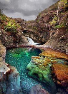 Fairy Pool, The Isle of Skye, Scotland. HEAVENN!!!!!!