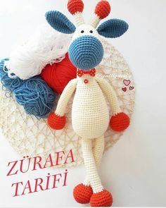 No photo description available. - Her Crochet Crochet Doll Pattern, Crochet Patterns Amigurumi, Amigurumi Doll, Crochet Dolls, Amigurumi For Beginners, Knitting Videos, Stuffed Toys Patterns, Crochet Animals, Crochet Crafts