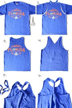 workout tank tutorial, make your owne workout tank, workout tank project, recycle tshirt projects - Casual Crafter