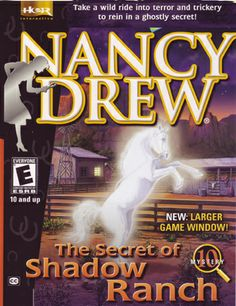 The first Nancy game I ever played!!
