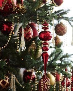 Add sparkle and shine to your Christmas tree with our Brilliant Bordeaux Ornament Set. Available on Balsam Hill today. Gold Christmas, Christmas Colors, Beautiful Christmas, Winter Christmas, All Things Christmas, Vintage Christmas, Christmas Holidays, Merry Christmas, Christmas Decorations