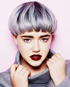 bowl cut with short fringe - Google Search