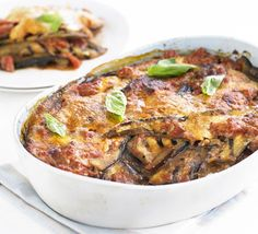 Every Italian cook has their own version of this classic aubergine dish. It's even better made a day ahead