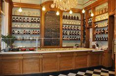 Le Botaniste   Ghent  Serves 100% organic, plant-based food and natural wines.