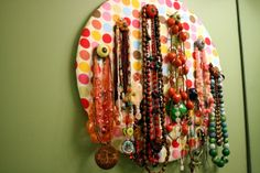 DIY Necklace Holder and Tutorial « Love People. Like Things.