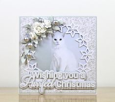 A Purrfect Christmas - Free SVG Sentiment |
