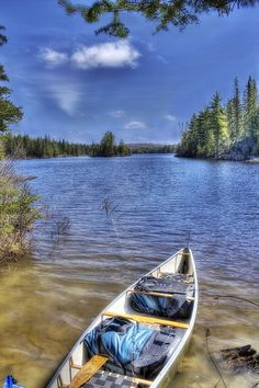 Interior Camping, Algonquin Park hoping to go this summer ♥♡♥ The Places Youll Go, Great Places, Places To Go, Beautiful Places, Canoe Trip, Canoe And Kayak, Outdoor Fun, Outdoor Camping, Canada Holiday
