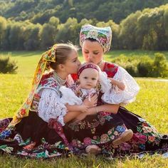 Happy Sunday from Slovakia 😍🌼☘️🇸🇰 Folk Costume, Costumes, Poland Girls, Heart Of Europe, Mother And Father, People Of The World, Ancient Art, Traditional Dresses, Winter Wonderland
